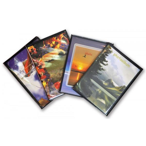 Conf ALBUMINI PORTA FOTO da 10 Pz. 10 ALBUM FOTOGRAFICI 12x16-40 FOTO