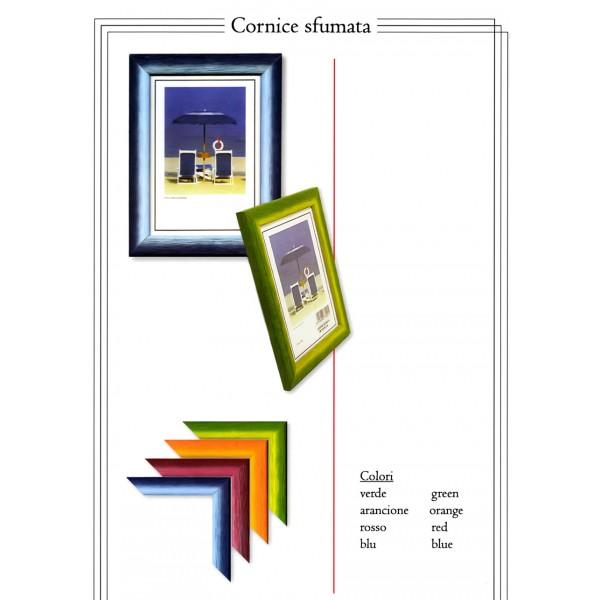 Cornice in legno 20x30 cm sfumata - Portafoto da tavolo 20x30 ...