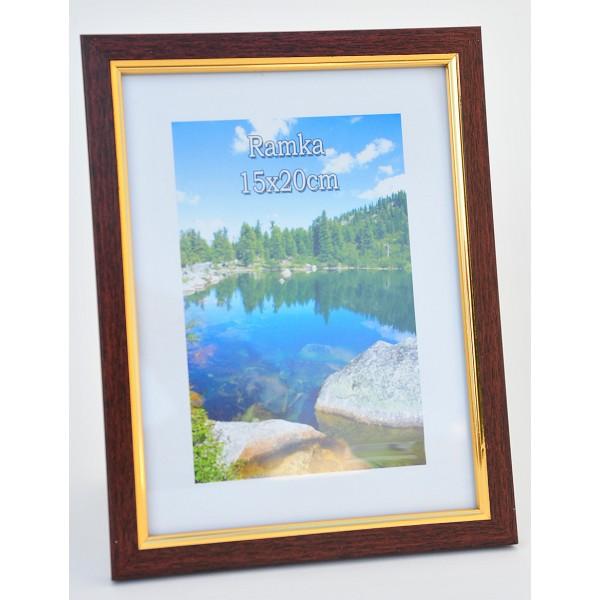 Cornice da tavolo portafoto filo d 39 oro 13x18 cm for Cornici 15x20