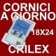 CORNICE A GIORNO IN CRILEX 18x24 cm.- Pacco da 12 Pz. - PORTAFOTO IN PLEXIGLASS